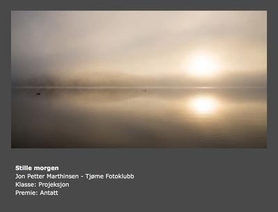 Vår 2015 - Tema: Stillhet - Tittel: Stille morgen (Jon Petter Marthinsen)