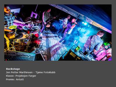Høst 2015 - Tittel: Backstage